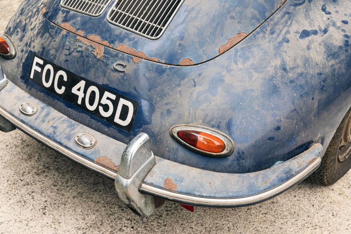 Barn find 1965 Porsche 356C 1600 Super 1