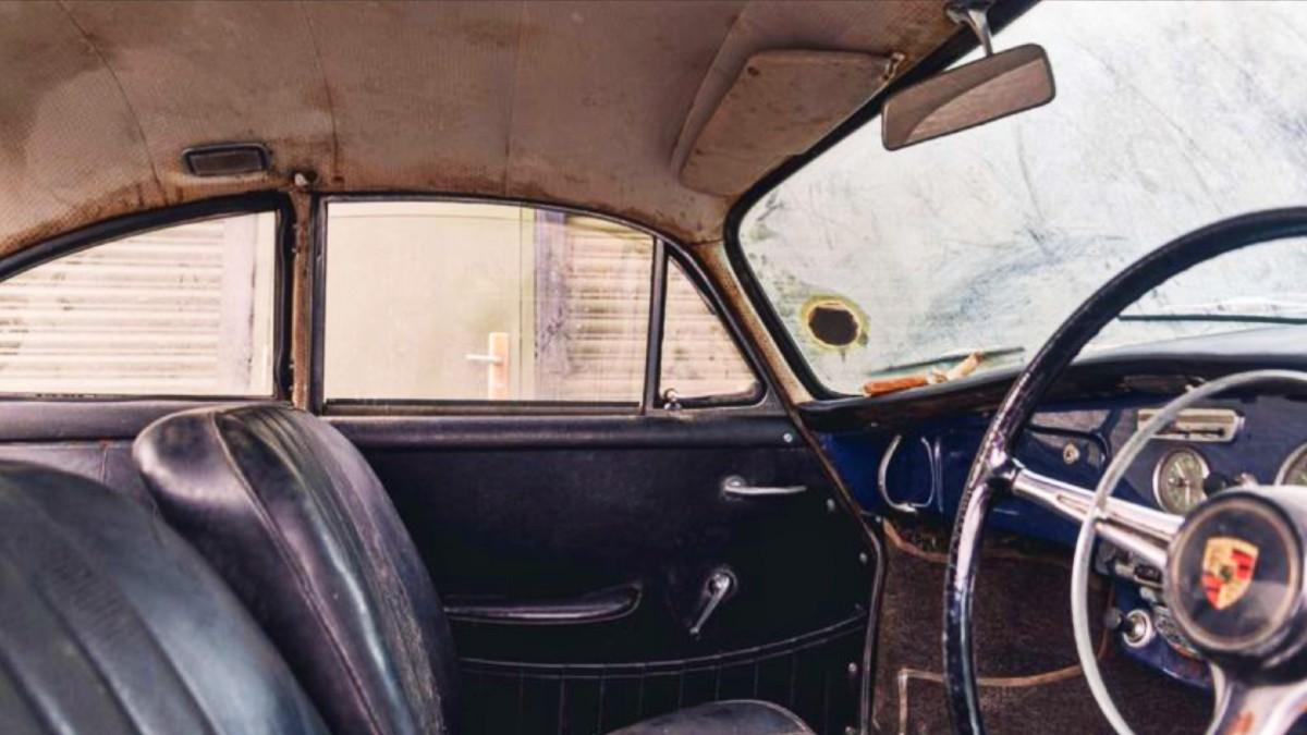 Barn find 1965 Porsche 356C 1600 Super 4
