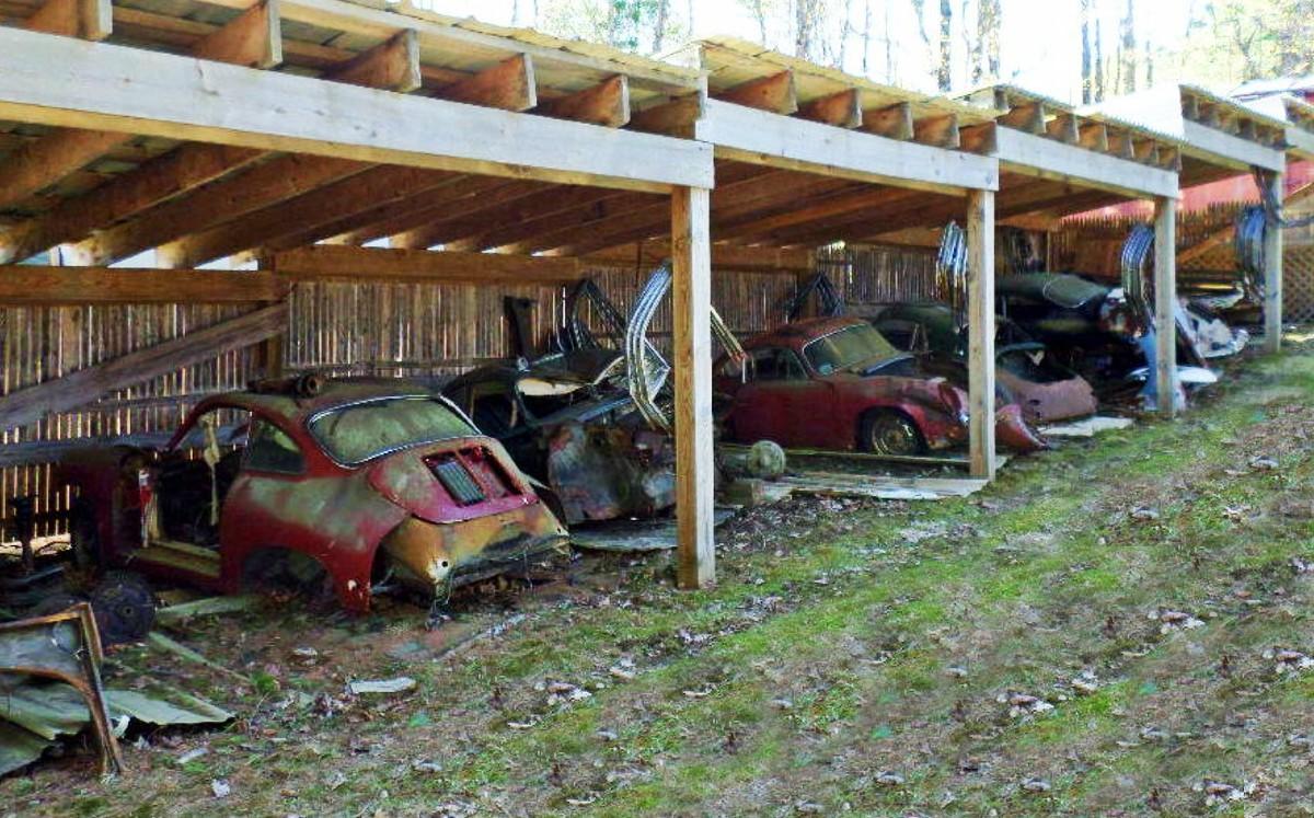 Barn find 1965 Porsche 356C 1600 Super 6