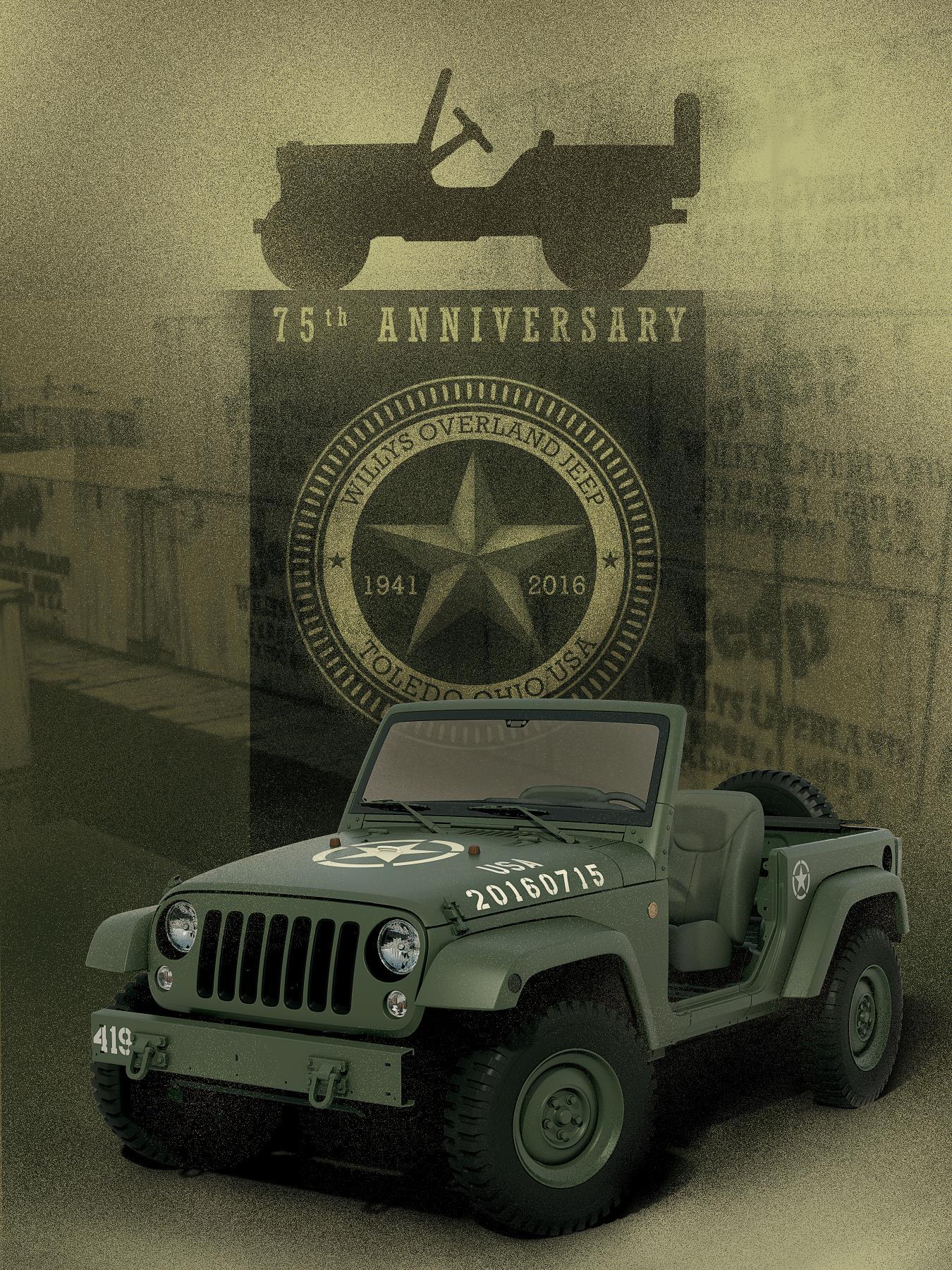 Birthday Jeep