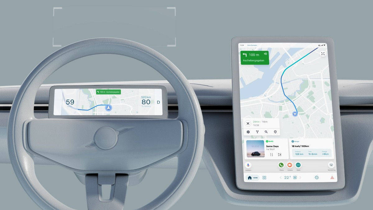Google partners with carmaker Volvo 5