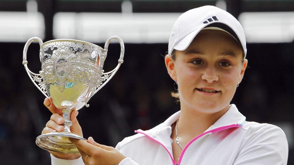 Junior Wimbledon champion Ash Barty 2