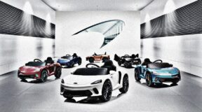 Ride-on McLaren the stuff of dreams