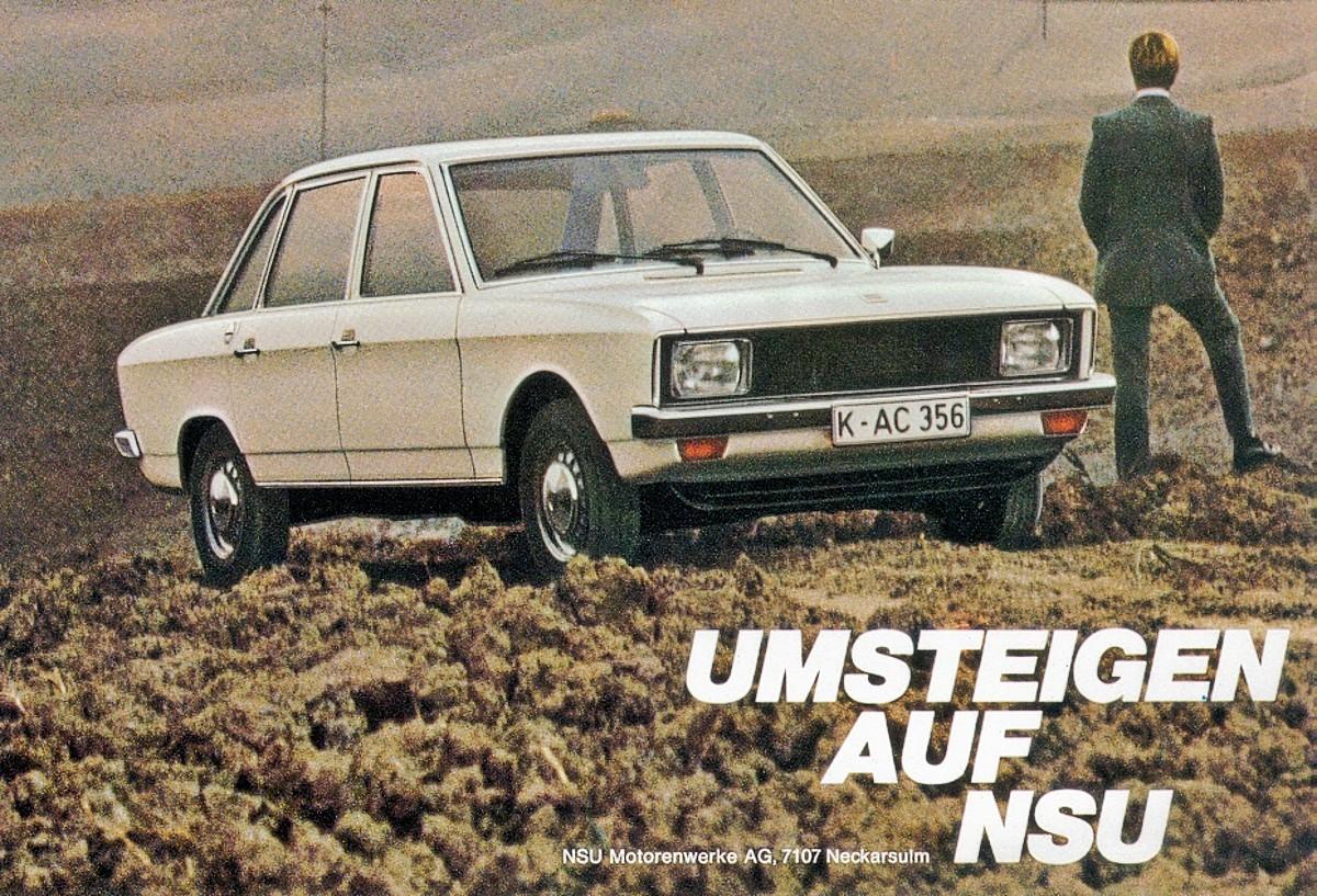 NSU K70 advertisement