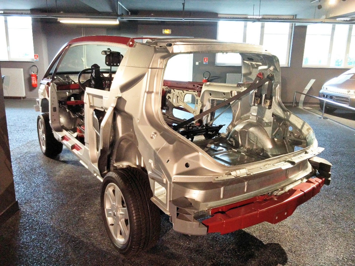 Renault Avantime space frame
