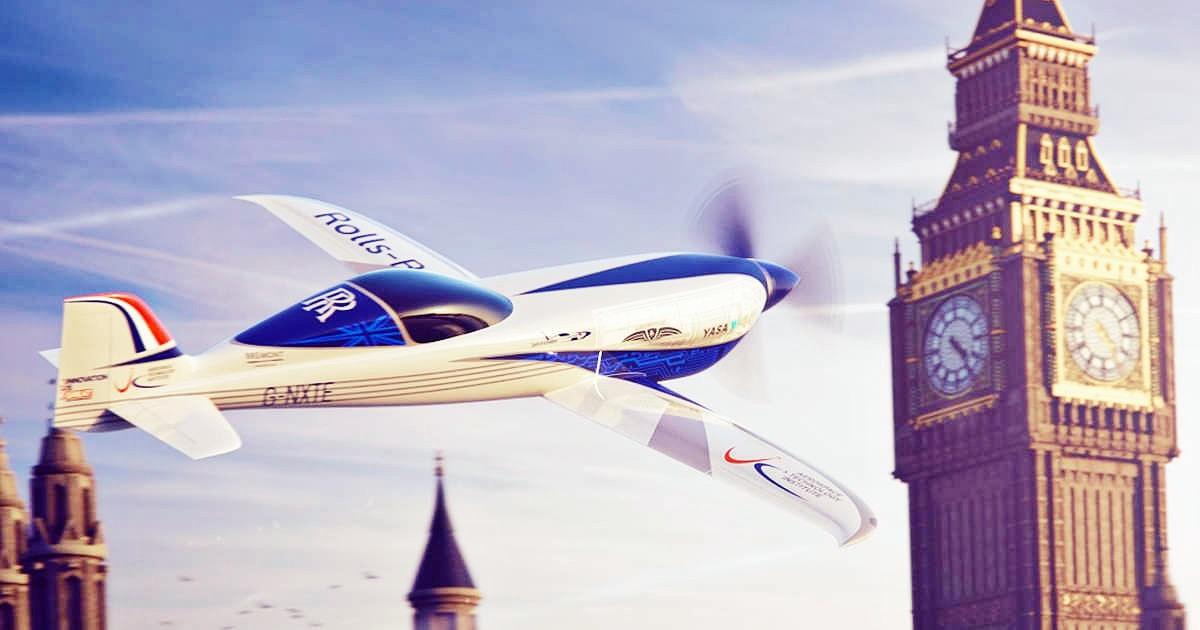 Rolls Royce Spirit of Innovation 11