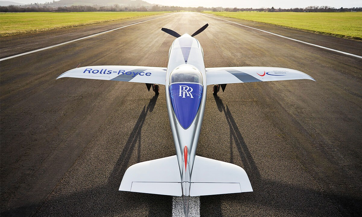 Rolls Royce Spirit of Innovation 5