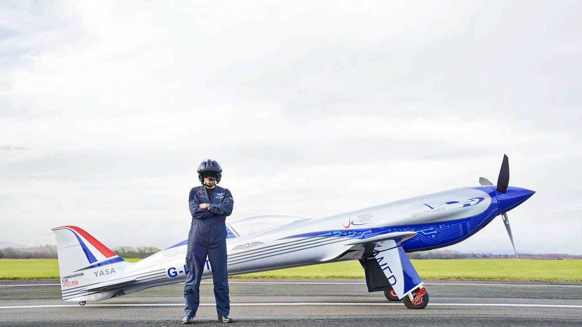 Rolls Royce Spirit of Innovation 6