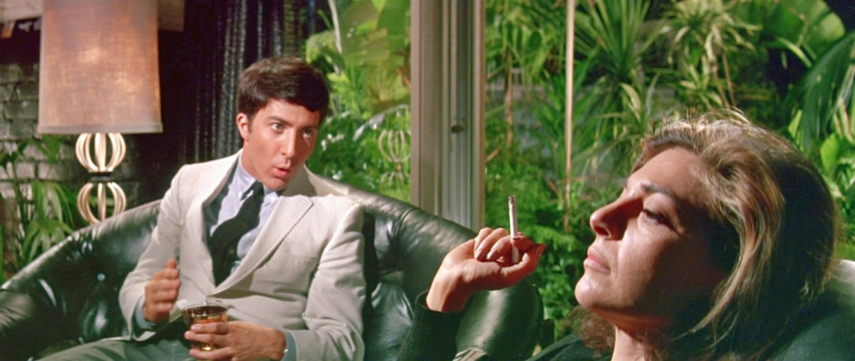 Scene from movie The Graduate