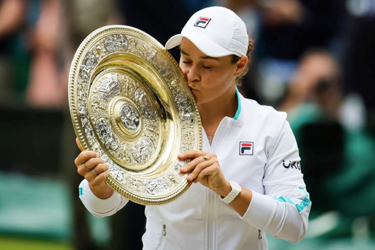 Wimbledon champion Ash Barty 1