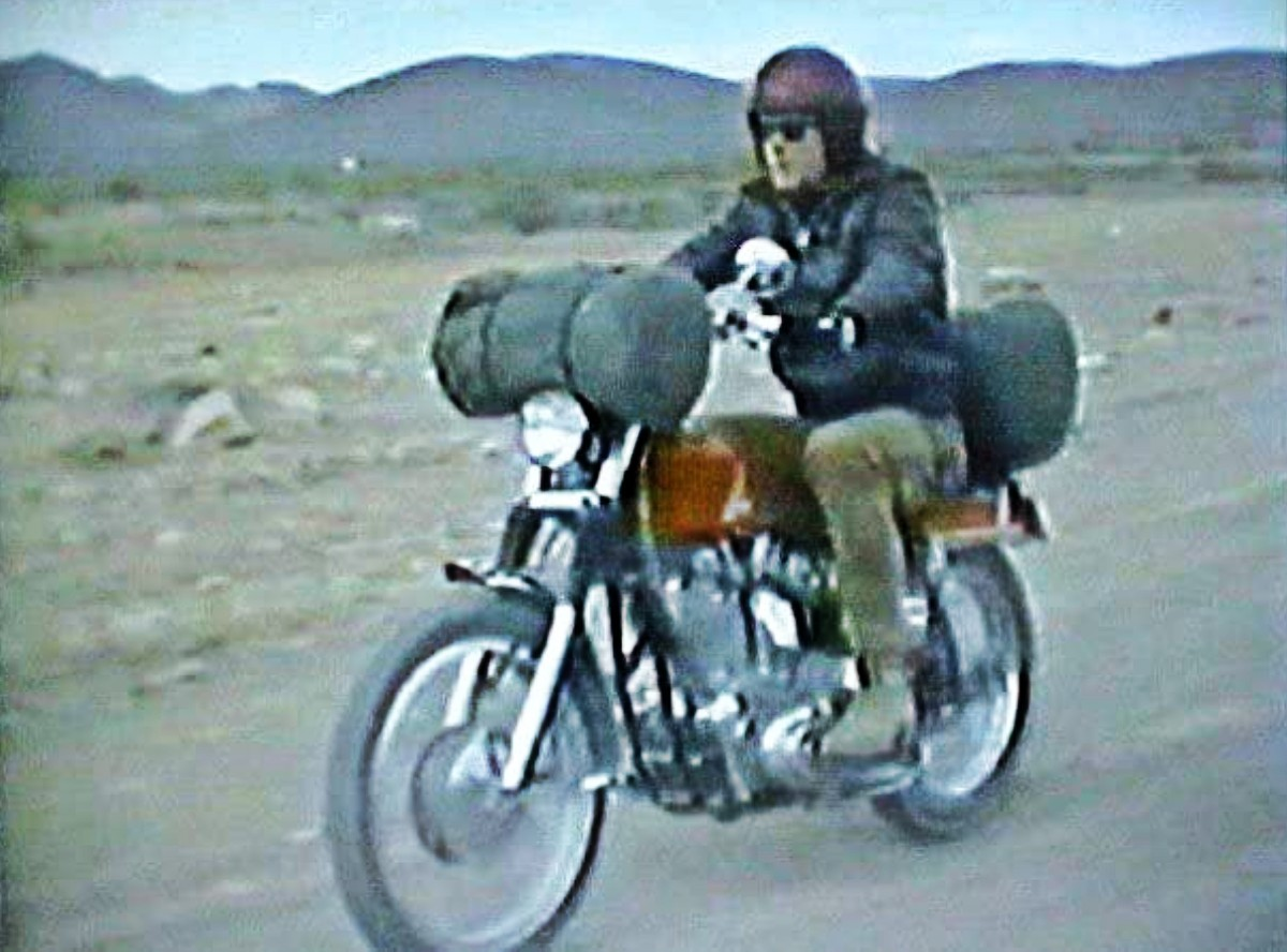 Bronson first, then came Easy Rider