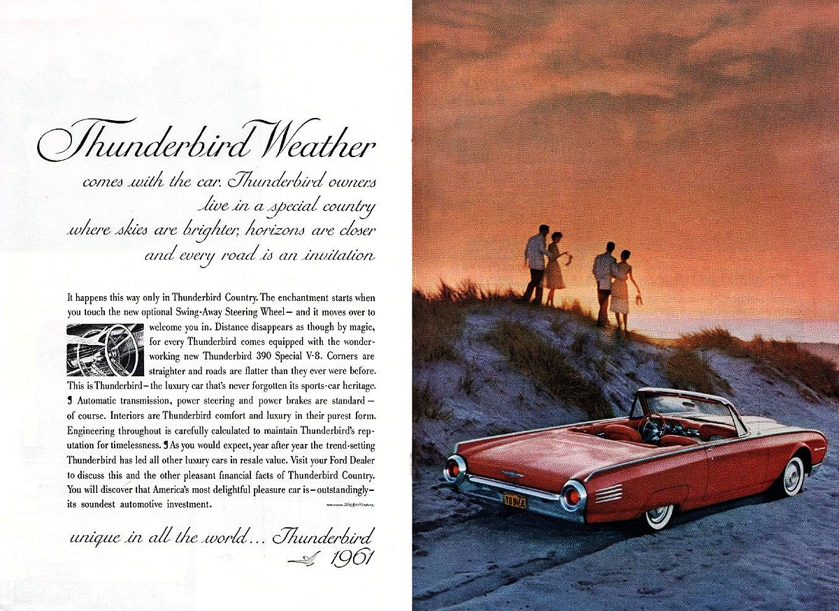 1961 Ford Thunderbird 3