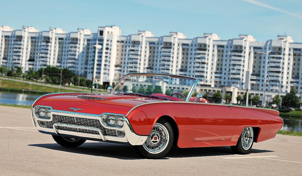 1961 Ford Thunderbird 6