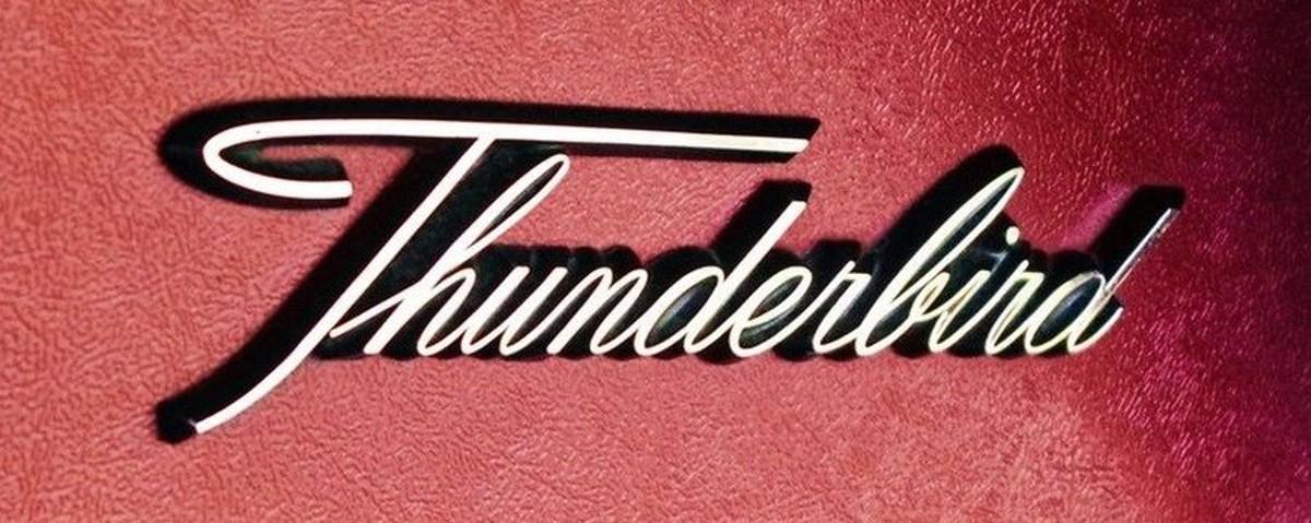 1961 Ford Thunderbird 7