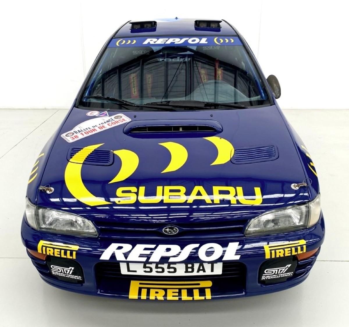 1994 Subaru WRX Prodrive 555 Group A rally car 1