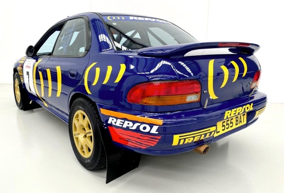 1994 Subaru WRX Prodrive 555 Group A rally car 2