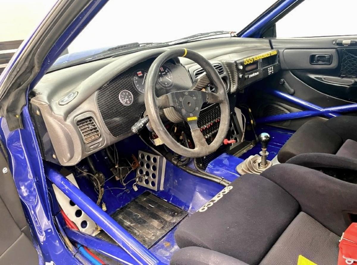 1994 Subaru WRX Prodrive 555 Group A rally car 7