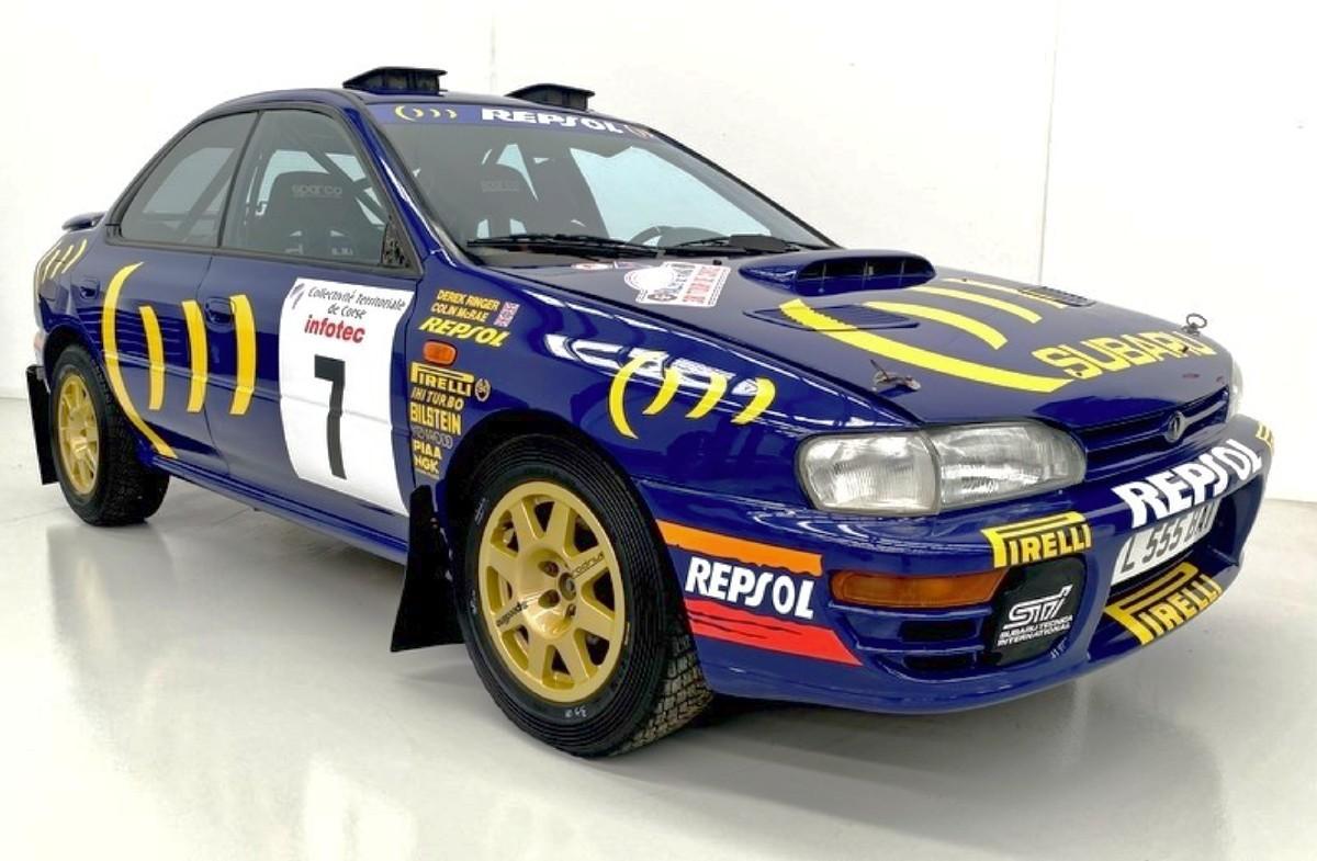 1994 Subaru WRX Prodrive 555 Group A rally car 8