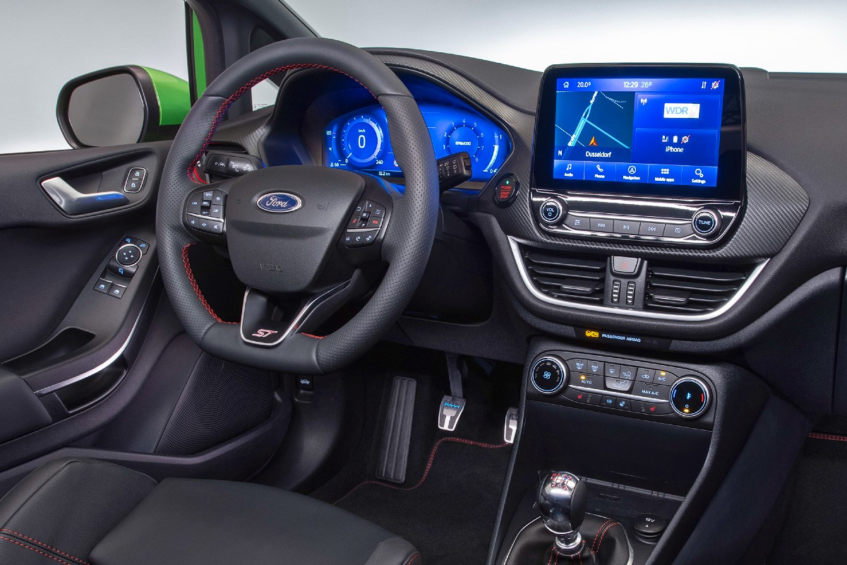 2021 Ford Fiesta ST 4