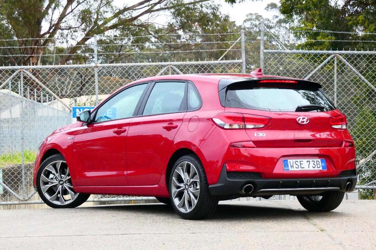 2021 Hyundai i30 N Line hatch 1