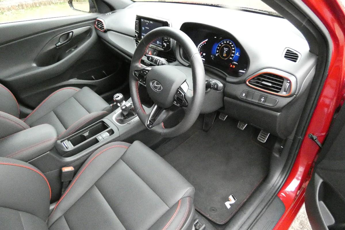 2021 Hyundai i30 N Line hatch 3