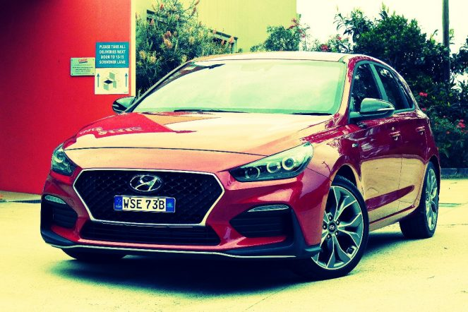 Hyundai i30: That's a B-line for the N Line