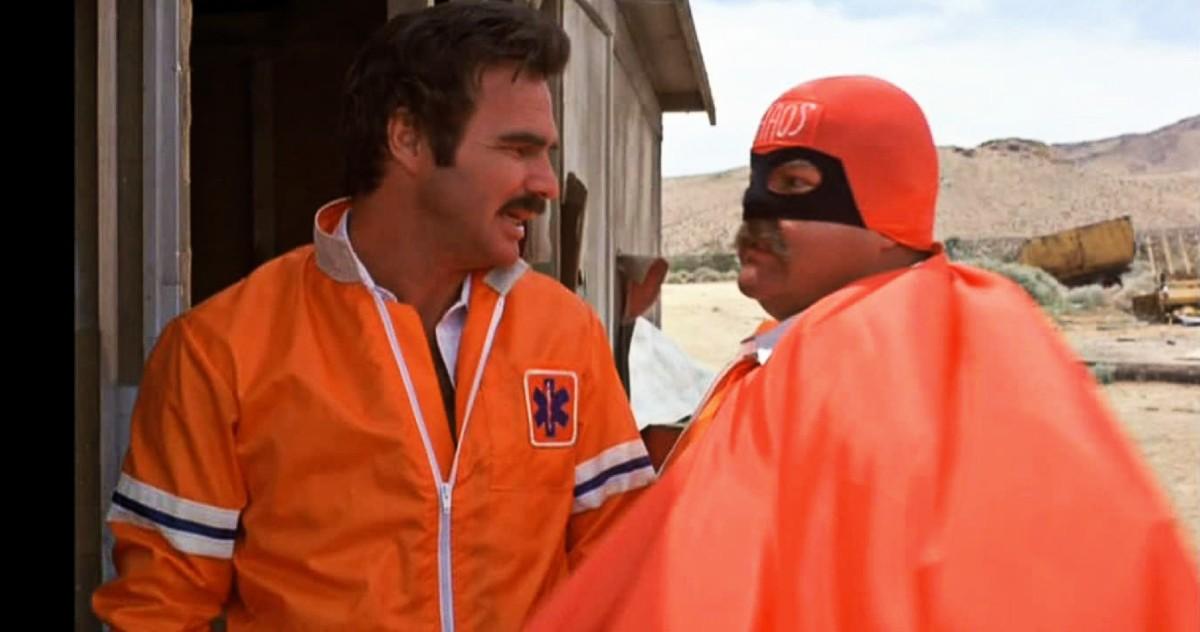 Burt Reynolds and Dom DeLuise