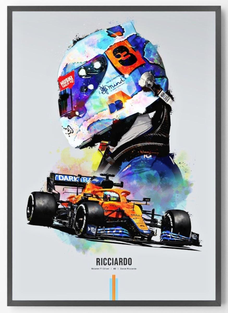 Daniel Ricciardo McLaren limited edition 2