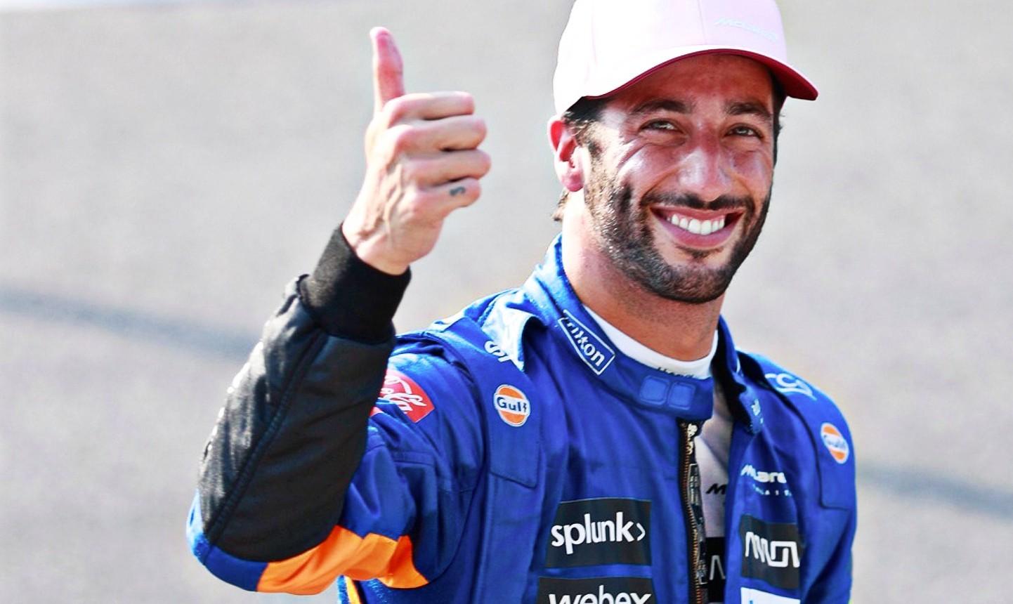 Daniel Ricciardo McLaren limited edition 3