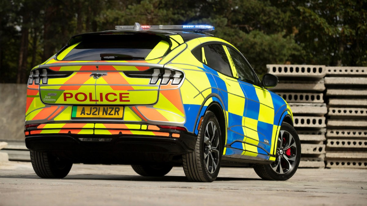 Ford Mustang Mach E police concept 2