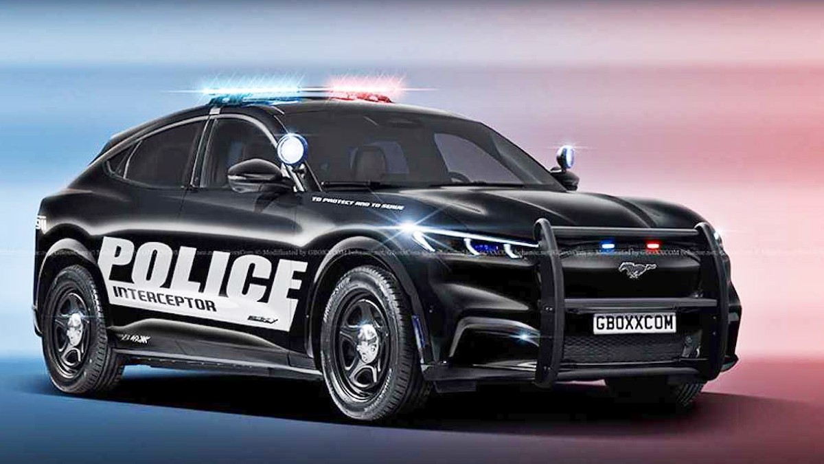 Ford Mustang Mach E police concept 3