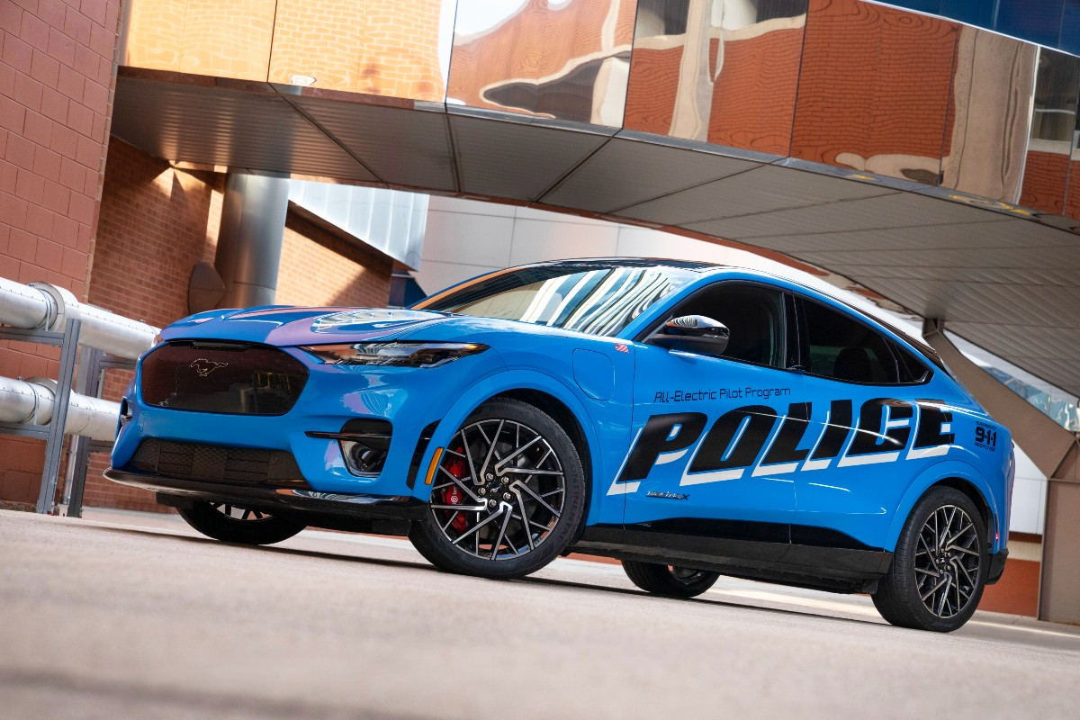 Ford Mustang Mach E police concept 7