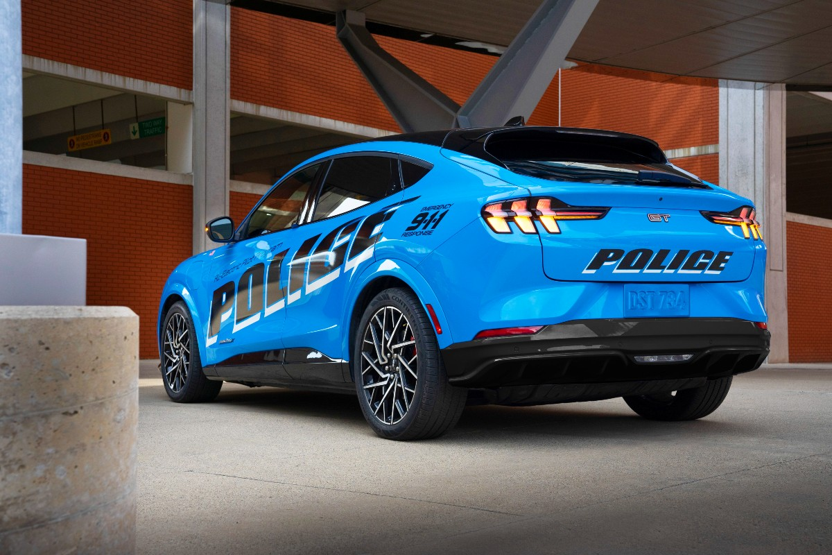 Ford Mustang Mach E police concept 8