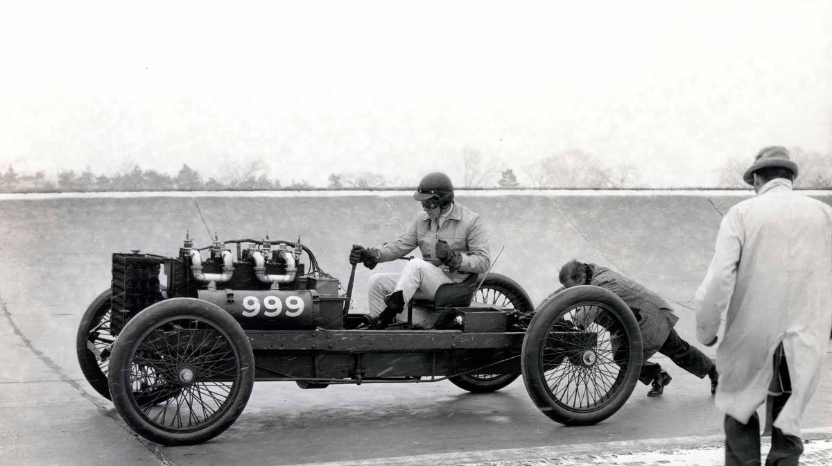 Henry Ford land speed record