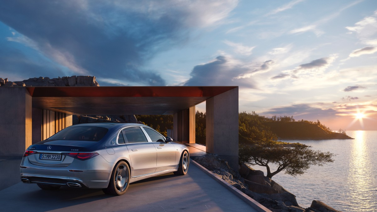 Mercedes Maybach Edition 100 6