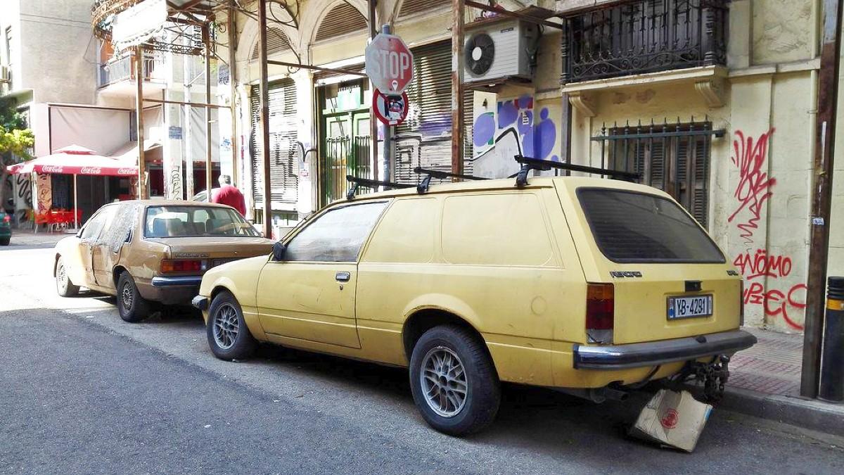 Opel Rekord panel van