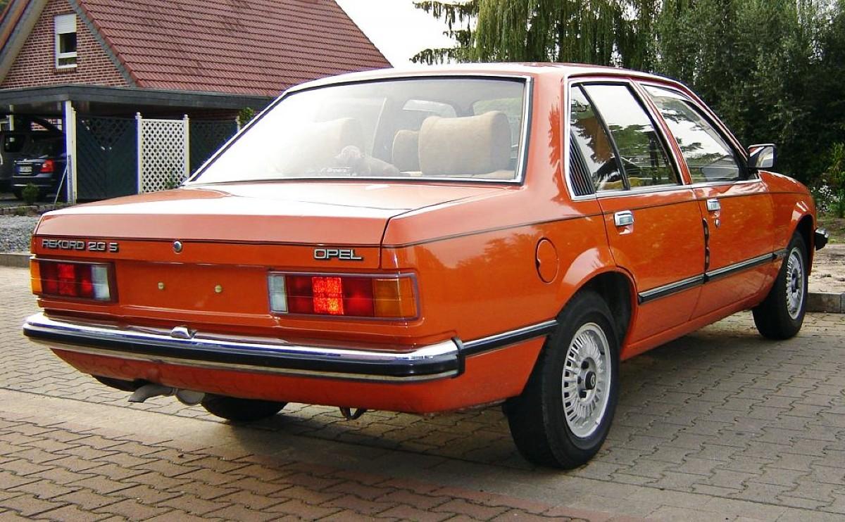 Plateless Opel Rekord
