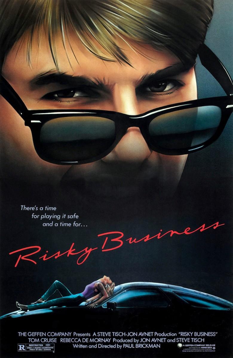 Porsche 928 from 1983 Risky Business movie 14