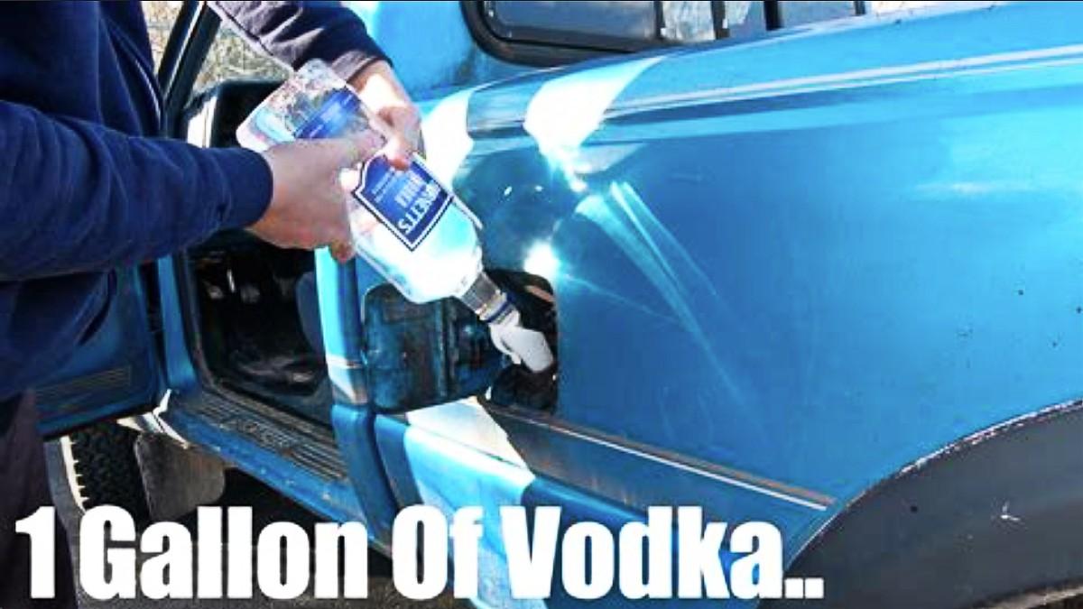 Vodka in the tank