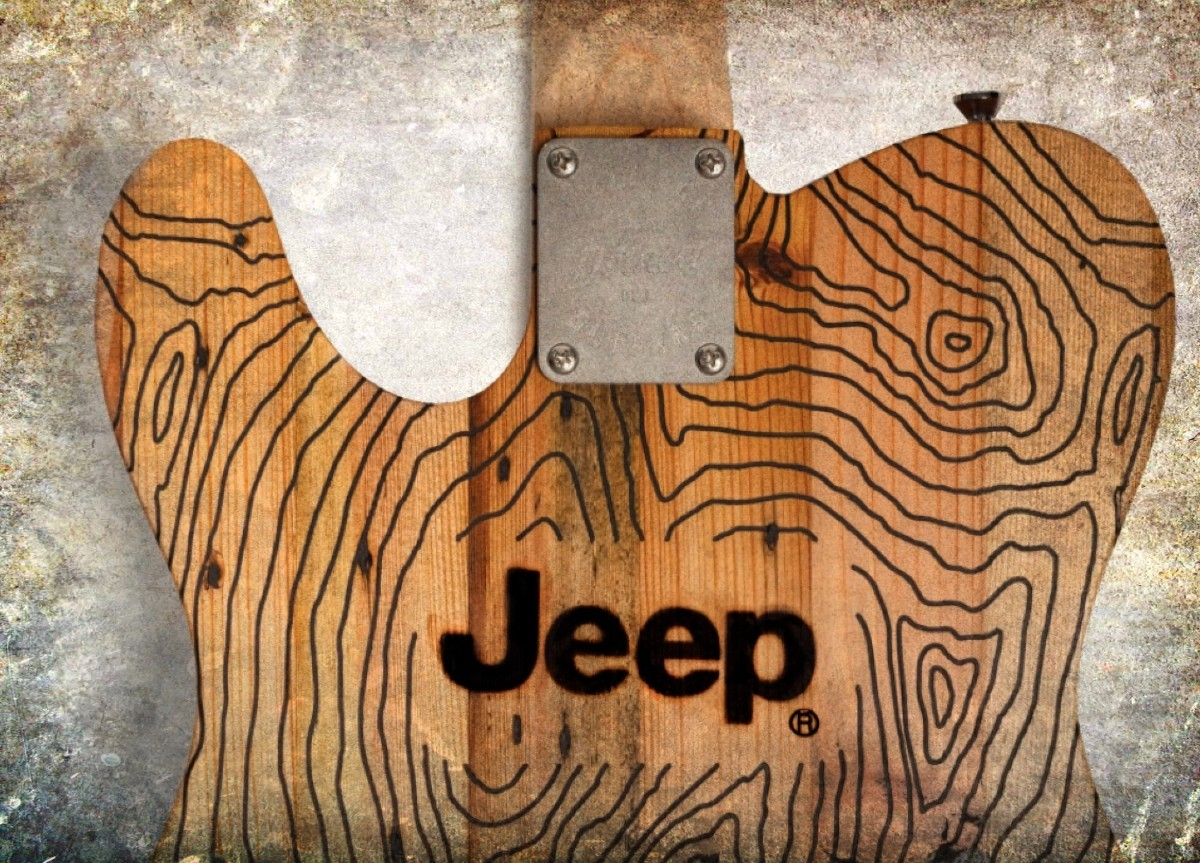Wallace Detroit Guitars Jeep Edition 1