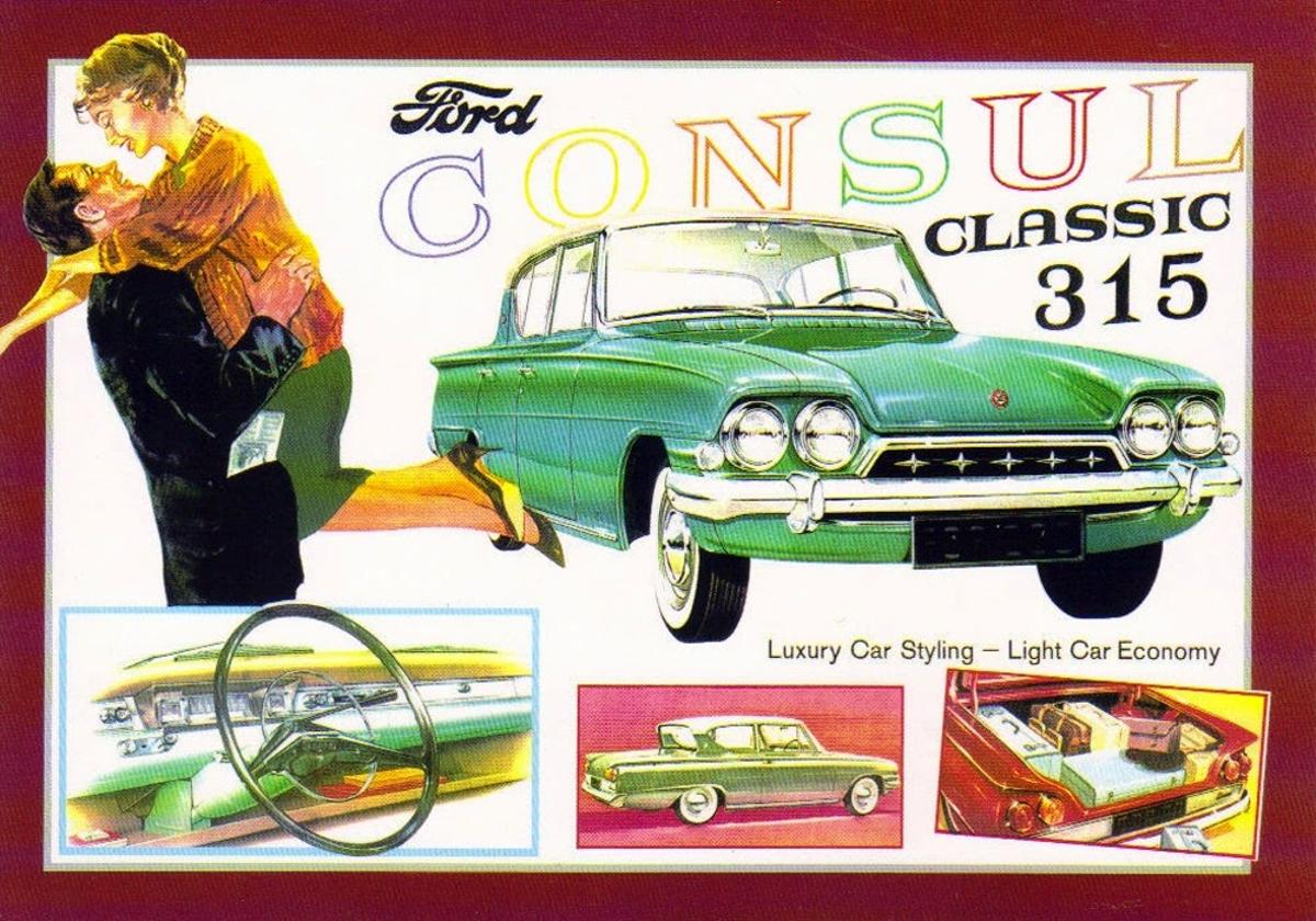 1961 Ford Consul Classic 3