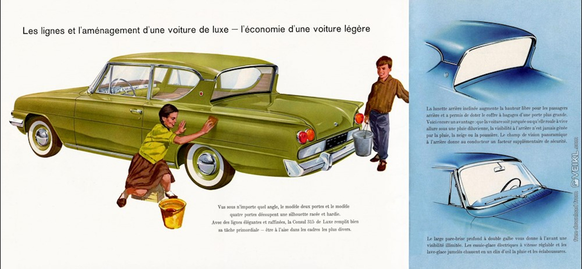 1961 Ford Consul Classic 4