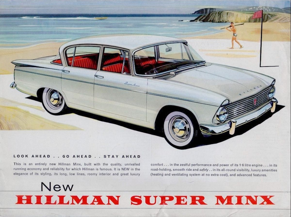 1961 Hillman Super Minx 1