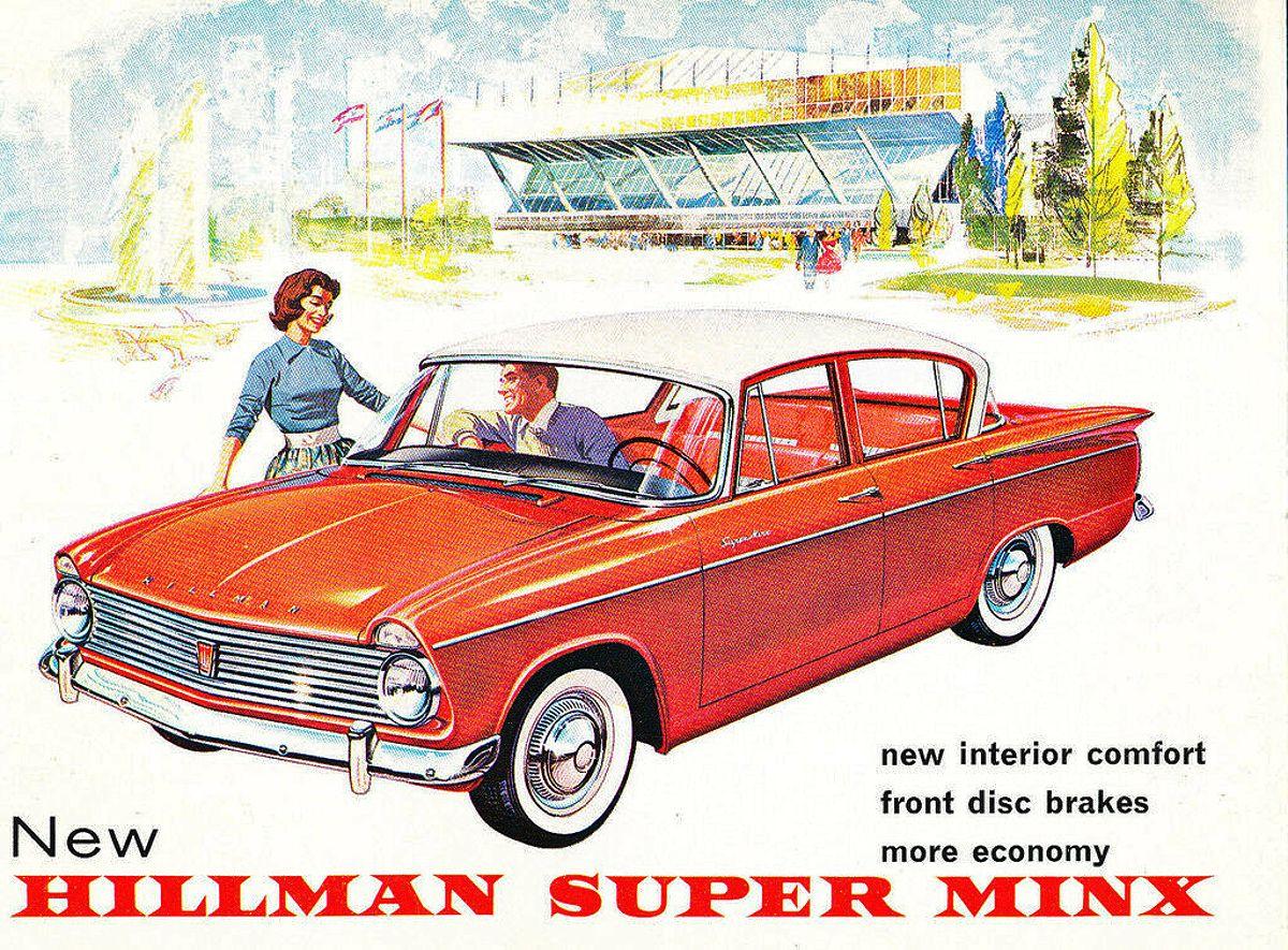1961 Hillman Super Minx 2