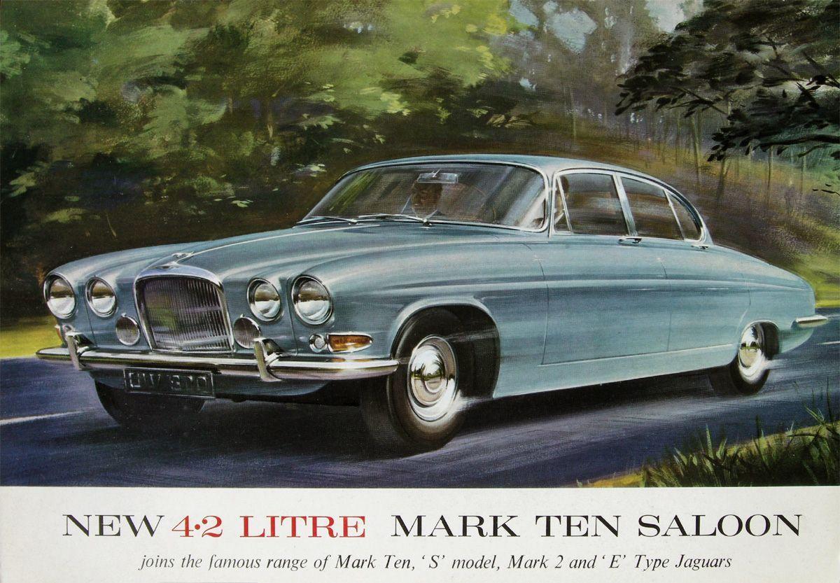 1961 Jaguar Mk 10 2