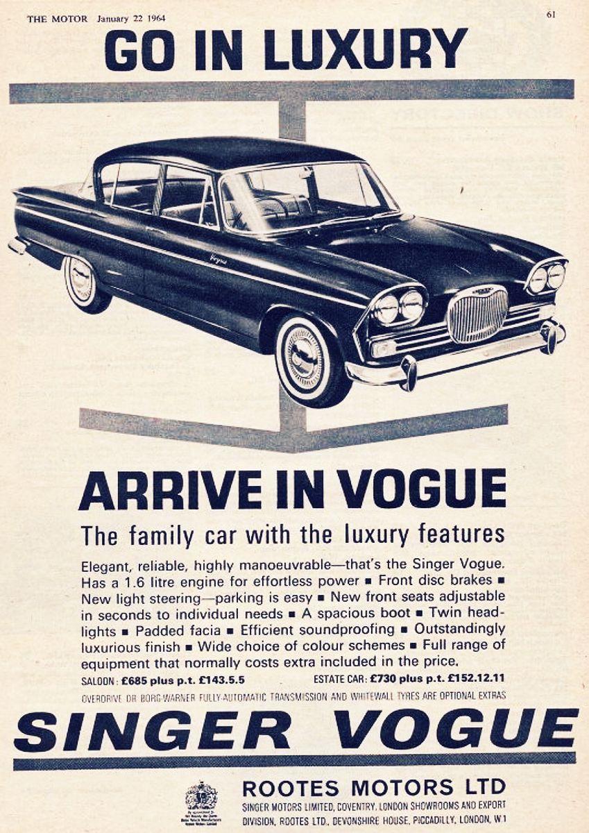 1961 Singer Vogue 1