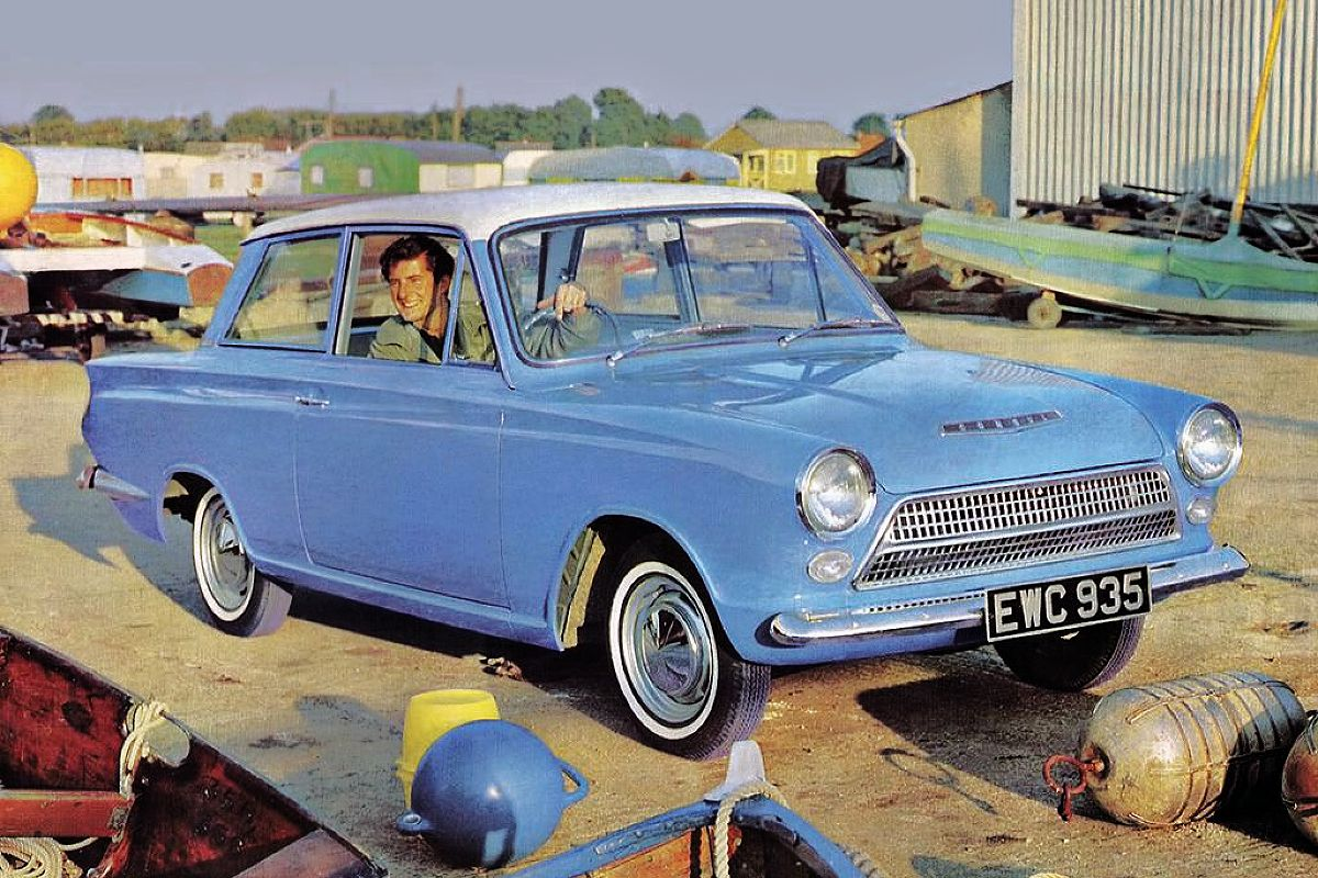 1962 Ford Cortina Coupe