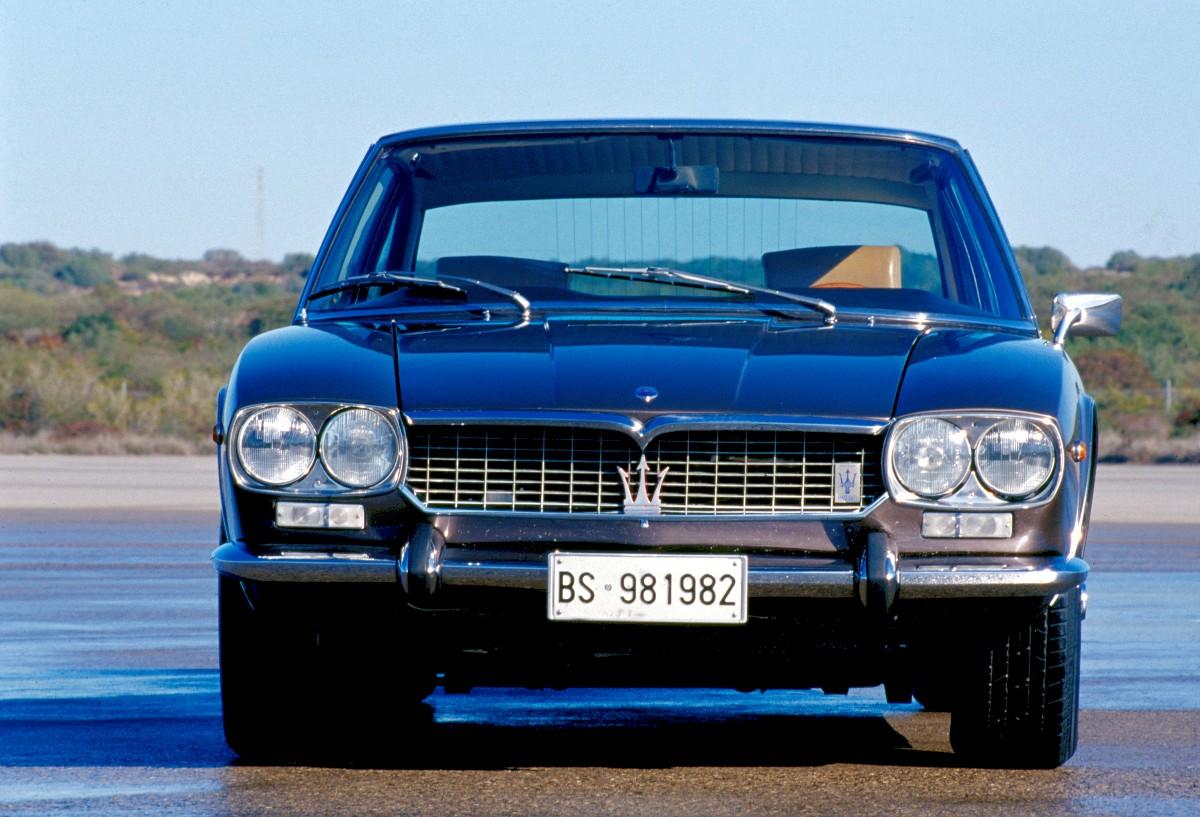1966 Maserati Mexico 9