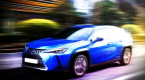Strike a light — it's an electric Lexus