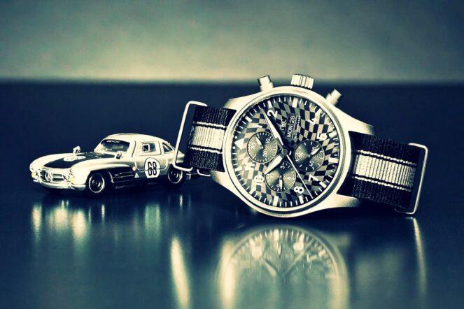 Hot Wheels -- a model timekeeper